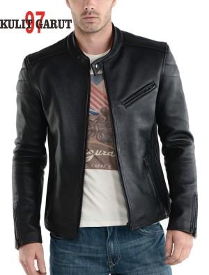 harga jaket kulit asli GARUT KG 97 070 SPORTY Tokopedia.com