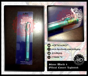 READY STOCK SHINee Official Concert Lightstick SHINee World IV