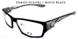 OAKLEY SCALPEL MATTE BLACK  Kacamata Anti Radiasi