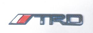 Emblem TRD Karbon