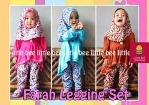 grosir baju bayi perempuan lucu 3 tahun - Farah Legging Set - blouse