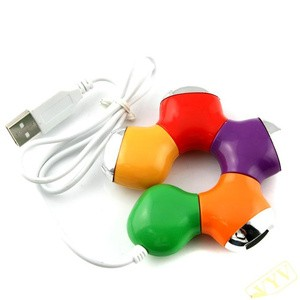 USB HUB 4PORT MODEL DONAT WARNA-WARNI/Unik & Lucu