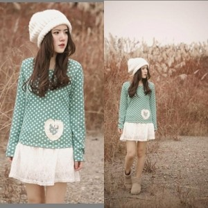 harga Dress Lace / Brukat # Dress Hijau # Dress Lengan Panjang # dress Motif Tokopedia.com