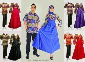 Jual Sarimbit Gamis 62 Couple Gamis Baju Muslim