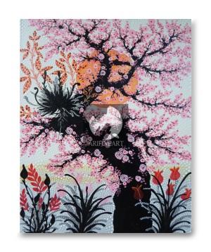 Lukisan Aborigin Sakura