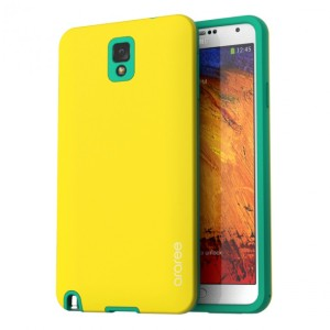 Araree Back Case for Samsung Galaxy Note 3 - Yellow Green