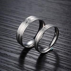 1 Pasang Cincin + Kotak Cincin Couple High Quality Kode CC-020