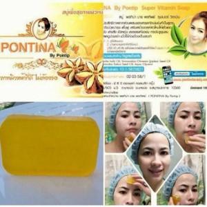 SABUN PONTINA WAJAH KUNING / YELLOW PONTINA SOAP