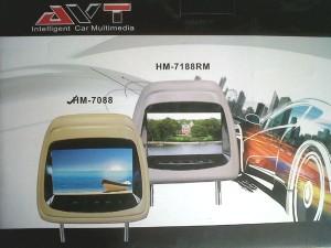 Monitor Headrest 7-inch, AVT HM-7088 (2pcs)