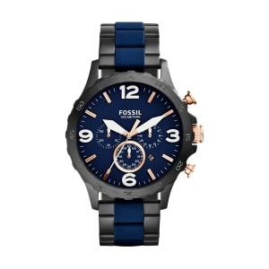 Fossil Nate JR1494 black blue