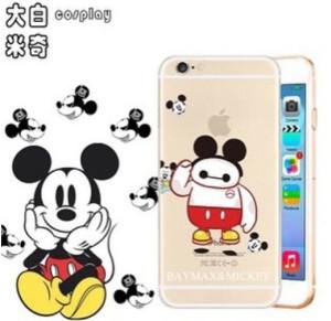 Casing HP Unik Baymax Cosplay Case Mickey Iphone 4/4s/5/5s/6/6+