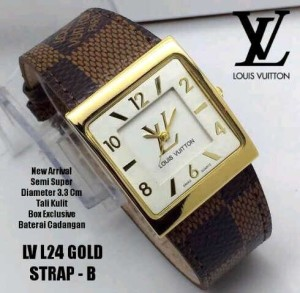 LV 24 leather new