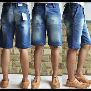 Celana Pendek Jeans - Topman Blue