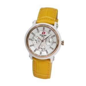 Swiss Army Ceramic SA2071LDLSLSLYL White Yellow