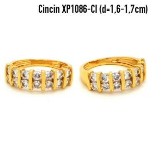 XP1086-CI Cincin Perhiasan Lapis Emas Gold