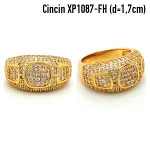 XP1087-FH Cincin Perhiasan Lapis Emas Gold