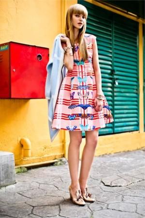Dress Motif # Dress Kupu Kupu # Butterfly Size S, M & Size L #SY3FL9D