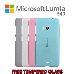 Soft Case / Softcase Microsoft Lumia 540 BONUS Tempered Glass PREMIUM