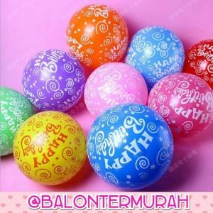 Balon latex hbd
