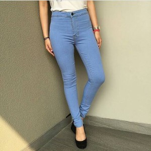 high waist jeans light blue 27-30