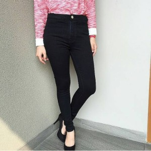 high waist black big size 31-34