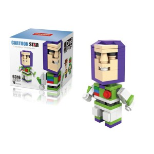 Lego Hsanhe Cube Toy Story Buzz