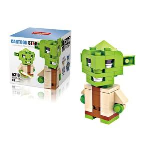 Lego Hsanhe Cube Star Wars Master Yoda