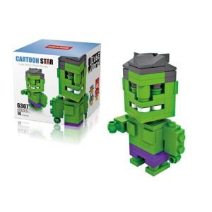Lego Hsanhe Cube Hulk