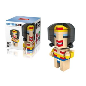Lego Hsanhe Cube Wonder Woman