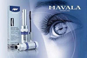 MAVALA waterproof mascara - dus putih - BLACK