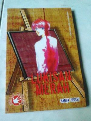 Komik Misteri Lukisan Merah oleh Kanon Iguchi