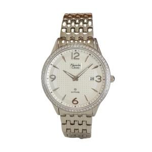 Alexandre Christie Sapphire Series 8389MHBSSSLDR Silver White