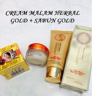CREAM GANODERMA MALAM + SABUN GOLD