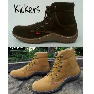 Sepatu Kickers Boot Wanita Pria size 39-43