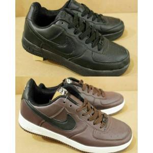 Sepatu Nike Force one Hitam Casual Kets Tenis