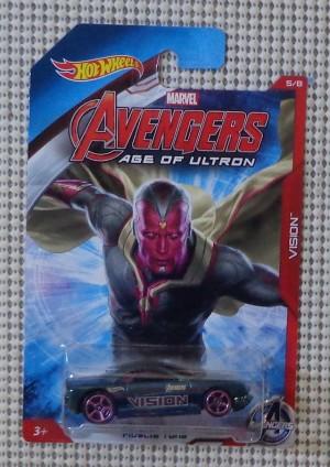 Avengers AOU MARVEL  VISION - Muscle Tone (Hot Wheels )