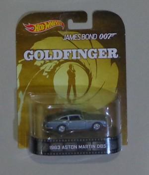 1963 Aston Martin DB5 (Hot Wheels) James Bond 007