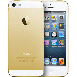 Apple iPhone 5-GOLD [32 GB] GSM-ORI GARANSI PLATINUM/TOP 1 TAHUN