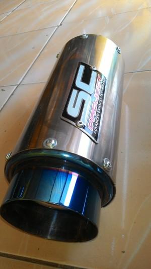 knalpot sc project ninja 250/fi/carbu/R15/R25