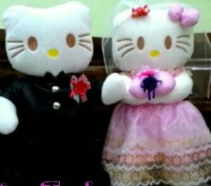 Married Hello Kitty (Harga Sepasang)