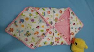 Selimut bedong hangat/sleeping bag 2 in 1