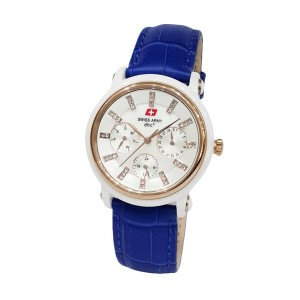 Swiss Army Ceramic SA2071LDLSLSLBU White Blue