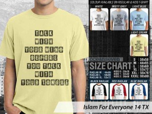 Kaos Islam Mind before Talk