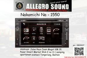 harga Nakamichi NA 1550 (Double din) (Poris-Tangerang-Jalan Daan mogot) Tokopedia.com