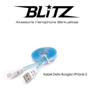 Kabel Data Bunglon Smile iPhone 5