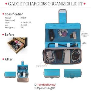 Charger Organizer Horizon Blue