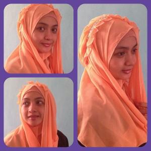Jilbab/kerudung/hijab instant model bando