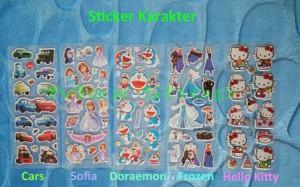 Sticker karakter