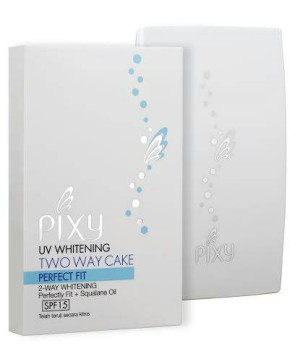 Pixy UV Whitening Two Way Cake Perfect Fit