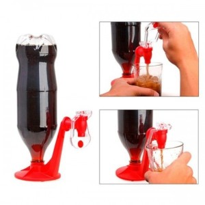 Portable dispenser / fizz saver soda